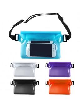 PVC Waterproof Waist Pack Bag Three Seals High-capacity Drift Diving Swimming Bag