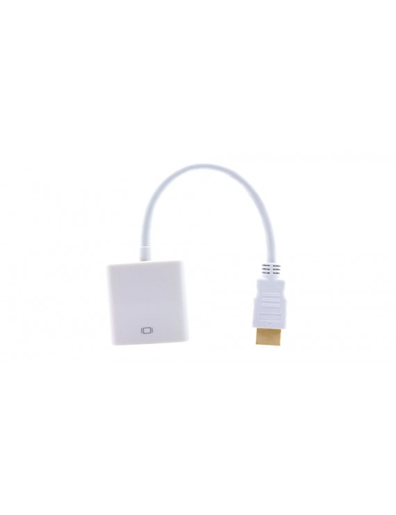 1080P HDMI Male to VGA Female Adapter Cable (14cm)