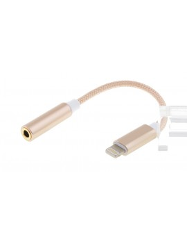8-pin to 3.5mm Braided Audio Cable Adapter