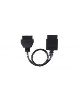 14-Pin Male to 16-Pin Female OBD II Diagnostic Adapter Cable for Nissan