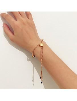 2018 Brand New Fashion Adjustable Bracelets for Women Black Blue Red Long Pendant Bracelet Women Jewelry Gifts