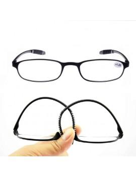 TR90 Flexible Unisex Reading Glasses Ultralight Eyeglasses Pressure Reduce +1.0~+4.0