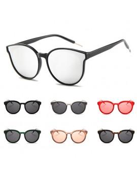 Women New Round Frame Sunglasses Retro Brand Designer Pink Green Yellow Sun Glasses Female Fashion Outdoor Driving Eyewear