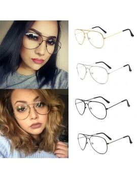Woman Men Eyeglasses Frames Clear Lens Glasses Reading Glass UV Protection Clear Lens Computer Eyewear Eyeglass