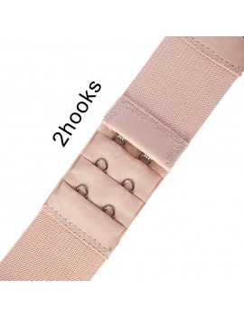 3Pcs Soft Ladies 2/3 Hook Bra Extender Bra Extension Strap Underwear Belt Adding