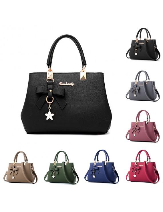 2018 New Arrival Women's Bowknot Handbag Crossbody Shoulder Waterproof Bag Fashion Ladies Bag