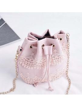 Korean Style Women Lace Handbag Shoulder Bags Tote Purse Messenger Satchel Bag Cross Body