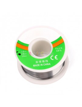 0.8mm 50G 63/37 Rosin Core Flux 2.0% Tin Lead Roll Soldering Solder Wire