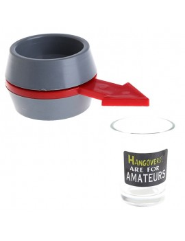 Party Fun Spinner Spin The Shot Roulette Glass Alcohol Drinking Game Gift