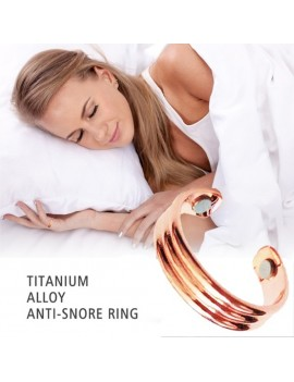 1pc Magnetic Anti Snoring Ring Acupressure Therapy Ring Snore Stopper Sleeping Aid Health Care