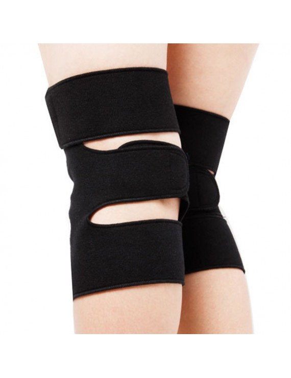 1 Pair Knee Brace Support Spontaneous Heating Protection Magnetic Therapy Health