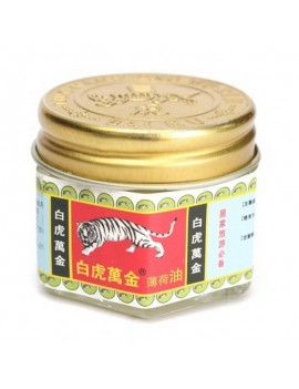 15g White Tiger Balm Wanjin Active Cream Pain Analgesic Active Oil Ointment