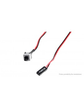 ATX Power Supply Reset Switch Cable for PC Desktop (3-Pack)