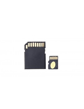 4GB microSDHC Memory Card w/ Card Adapter and 2-in-1 Card Reader