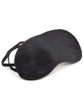 1 x Eye Mask Cover Shade Blindfold Sleeping Travel Black