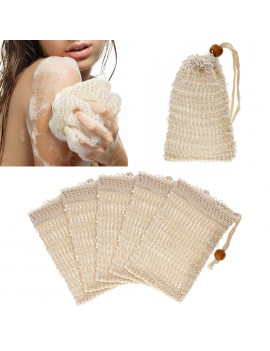 1Pc Soap Saver Pouch Bubble Foam Net Handmade Soap Mesh Bag Exfoliating Mesh Body Facial Cleaning Bath Shower Tool