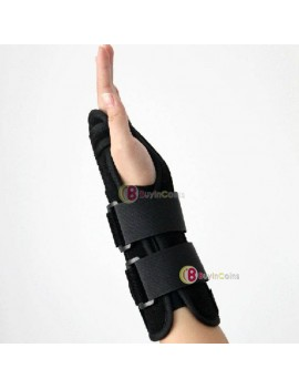 1pcs New Carpal Tunnel 2 Wrist Brace Support Sprain Forearm Splint Band Stra