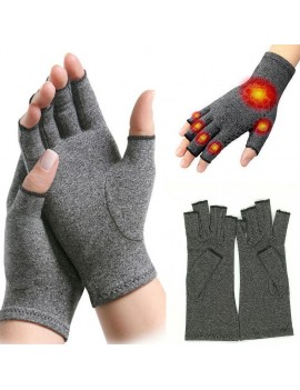 1 Pair Medical Anti Arthritis Compression Therapy Gloves Hand Support Pain Relief No Glue